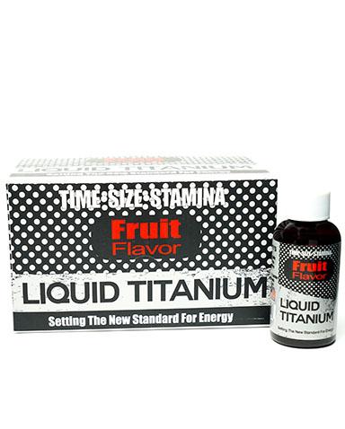Liquid Titanium Male Sexual Enhancement Bottle and Box