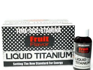Liquid Titanium Male Sexual Enhancement Bottle and Box