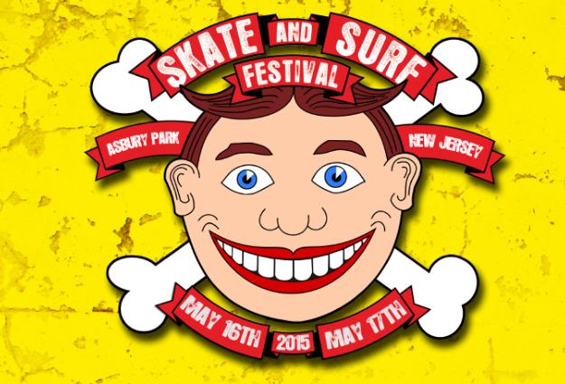 Skate and Surf Festival 2015 - Asbury Park, NJ - May 16th & 17th *RAIN OR SHINE