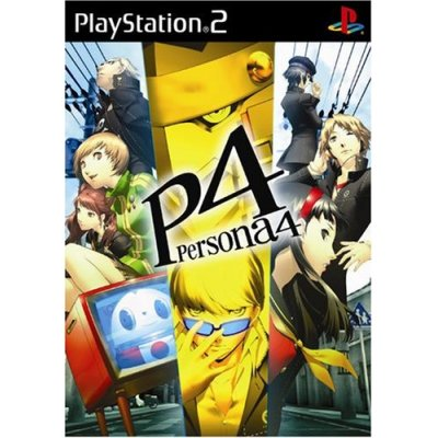 Persona 4 box cover