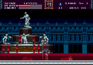 ESRB rating for Castlevania Classics Collection is up