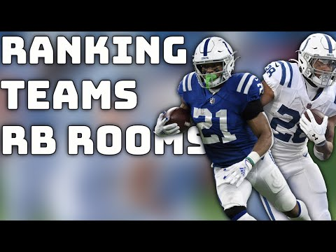 Rankings the NFL RB Rooms Worst to First