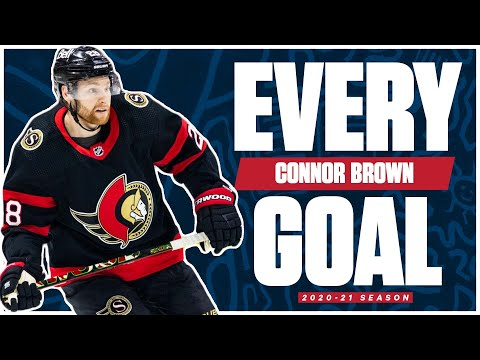Every Connor Brown Goal From The 2020-21 NHL Season