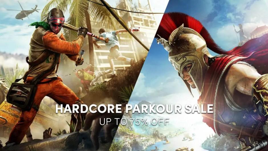 Hardcore Parkour Sale