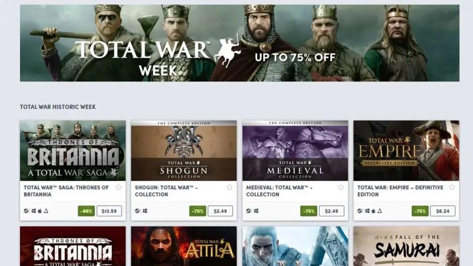 Total War Week