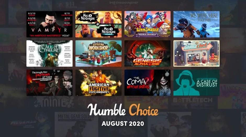 Humble Choice August, Vampyr, Call of Cthulhu, Wargroove