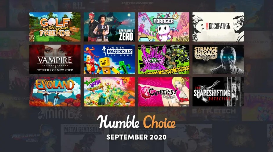 Humble Choice September: Golf with Your Friends, Forager, Evoland