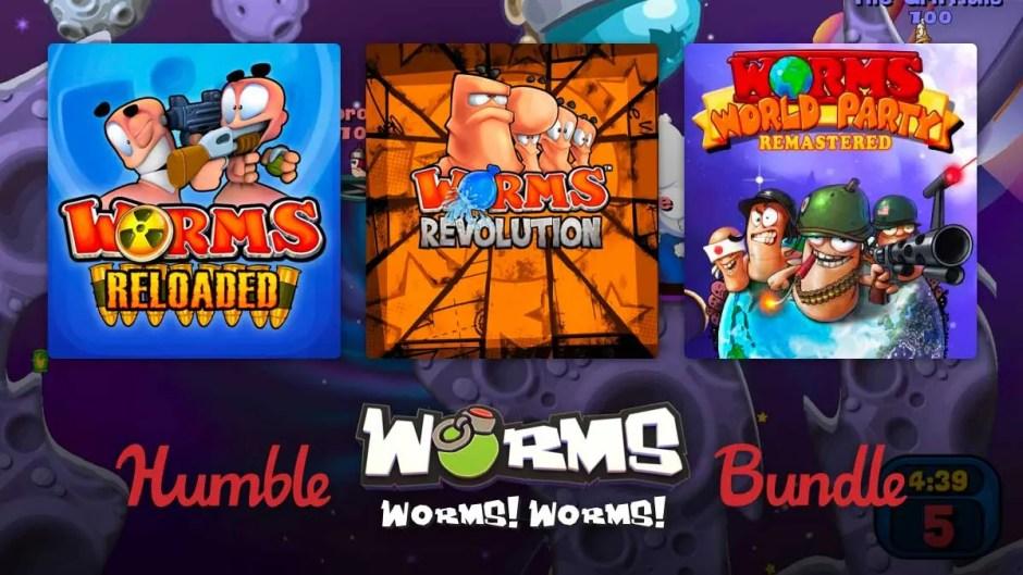 Humble Worms Bundle