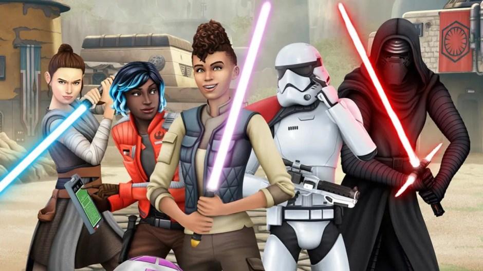 The Sims 4 Plus Star Wars Journey to Batuu Bundle