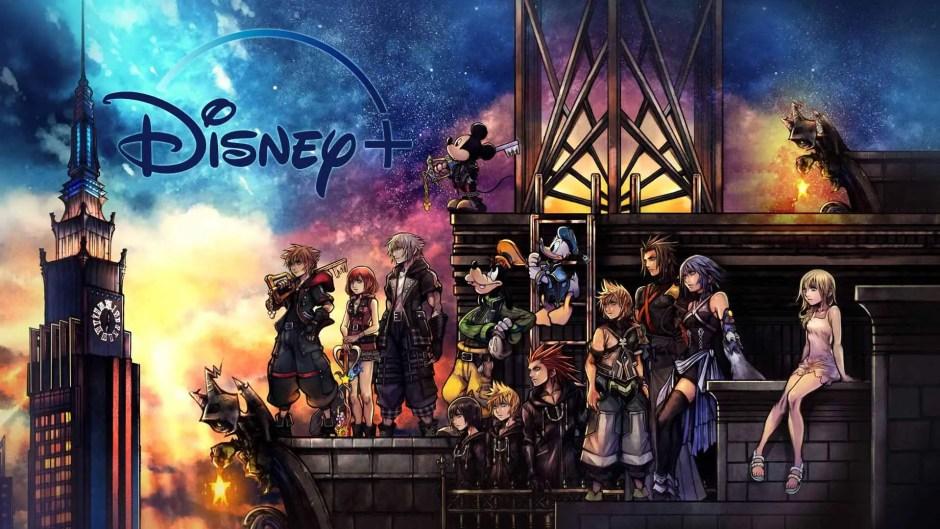 Kingdom Hearts III + Re Mind Disney+