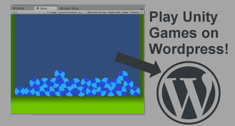 How To Post Unity Games to WordPress - Game Dev Bill