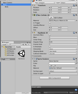 Unity add player