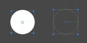 Circle collider2D