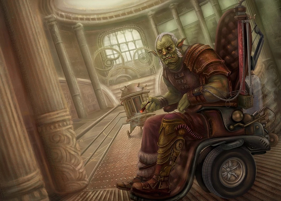 Steampunk Orc