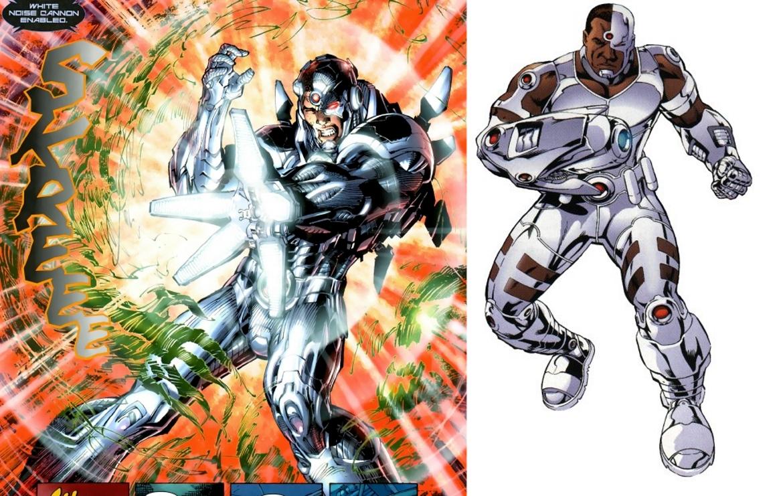 Comic Cyborg