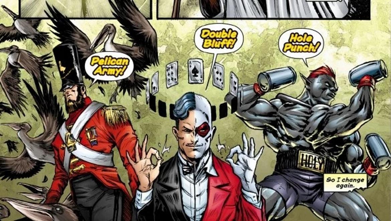 Comic Dial H
