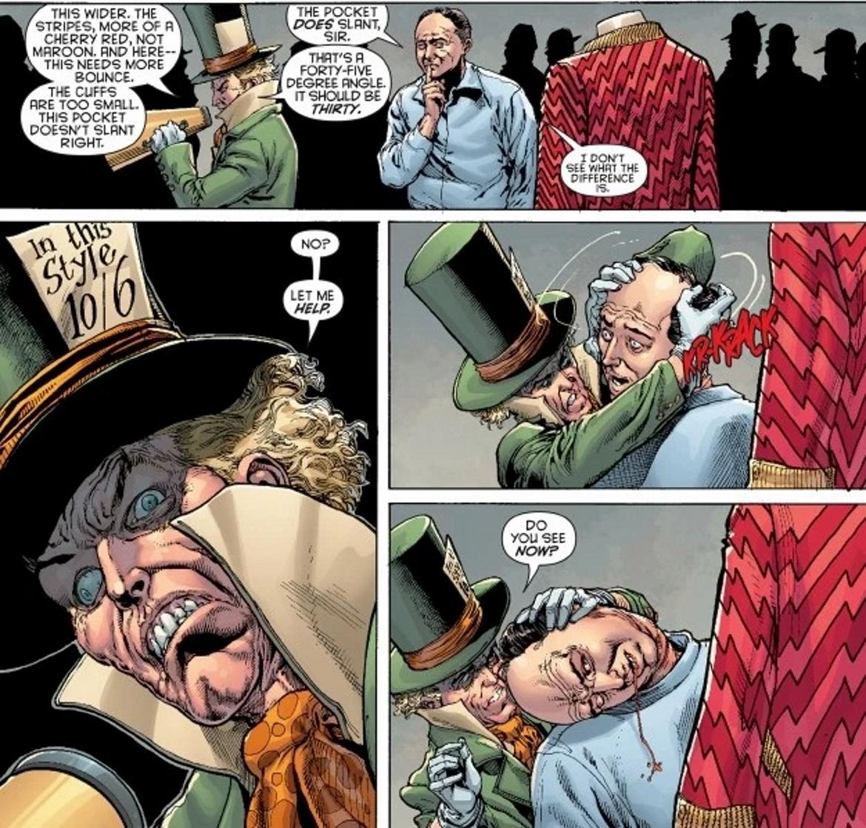 Comic Mad Hatter