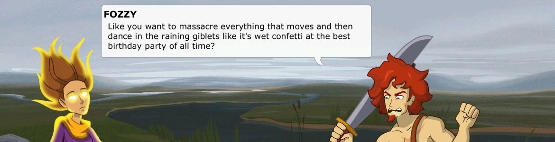 Defenders Quest Funny