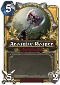 Hearthstone Arcanite Reaper