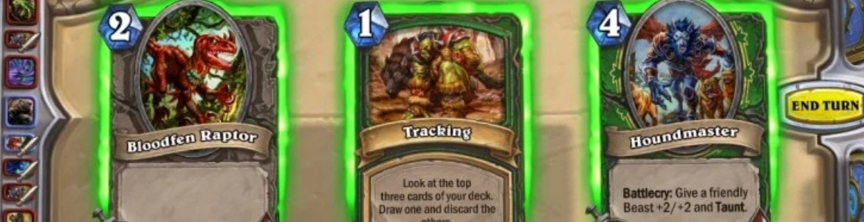 Hearthstone Beastmaster Tracking