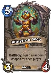 Hearthstone Blingtron 3000