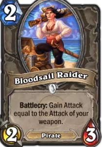 Hearthstone Bloodsail Raider