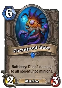 Hearthstone Corrupted Seer