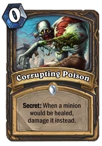 Hearthstone Corrupting Poison