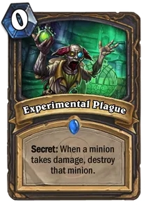 Hearthstone Experimental Plague