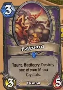 Hearthstone Felguard