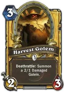 Hearthstone Harvest Golem