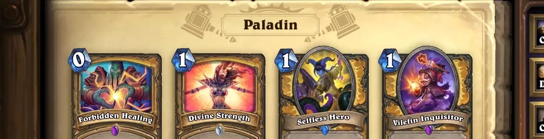 Hearthstone OG Paladin