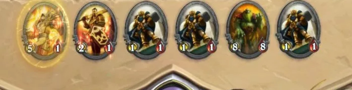 Hearthstone Paladin Soldiers