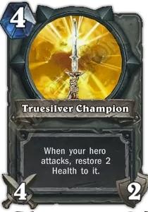 Hearthstone Truesilver Champion