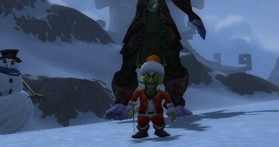 WoW Pet Battle Christmas Leper