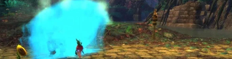 WoW Pet Battle Plants Wave Coming