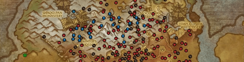WoW Pet Battle Tracker Map