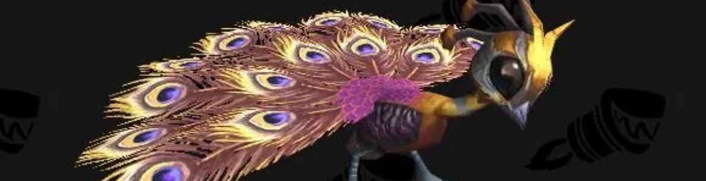 WoW Pet Battle WOD Peacock