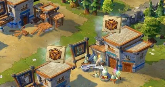 Age of Empires Online Crafting