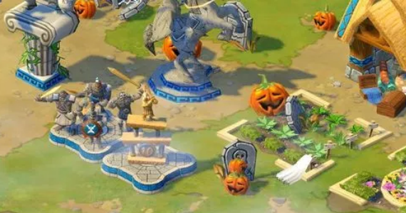 Age of Empires Online Halloween City