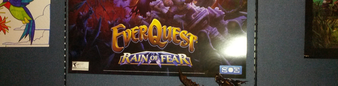 EverQuest Poster Rain of Fear