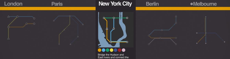 Mini Metro Maps