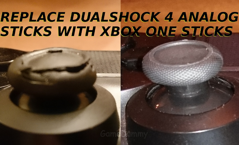 How to Replace Defective DualShock 4 Analog Sticks