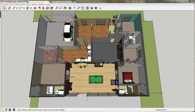 Sketchup_House_screenshot