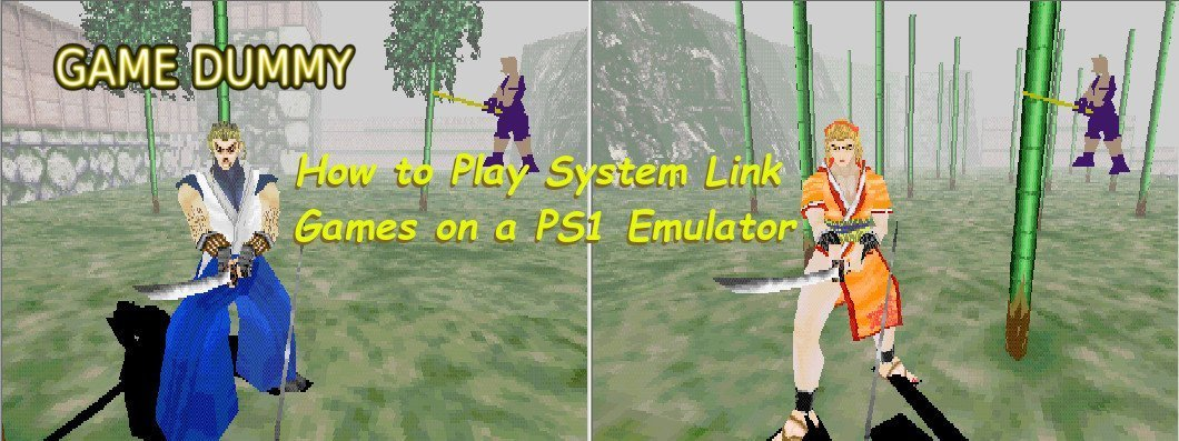 How to Play System Link Games on a PS1 Emulator