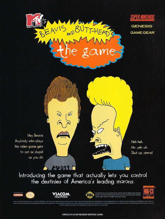 Beavis And Butt Head Download Game GameFabrique
