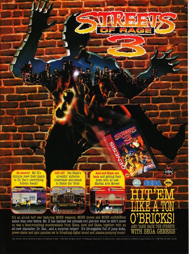 Streets Of Rage 3 Download Game GameFabrique