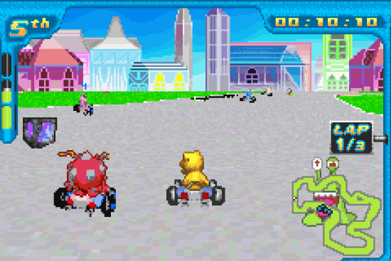 Digimon Racing GBA ROM #4