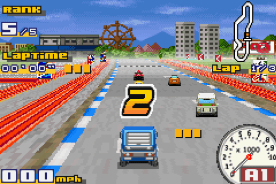 Gadget Racers GBA ROM #7