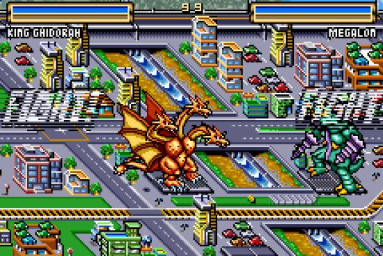 Godzilla: Domination! GBA ROM #7